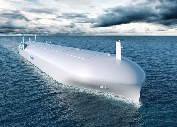 Rolls-Royce's Vision Of The Future: A Fleet Of Drone Ships Controlled By Augmented
