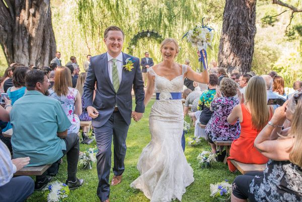 """Congratulations to Shannon and Patrick on their beautiful wedding at Radonich Ranch in Los Gatos, California."" --<i>Li"