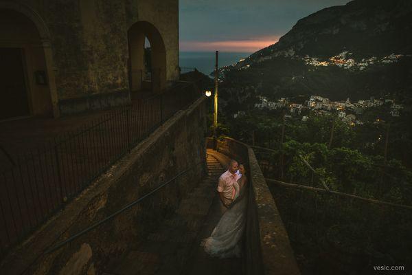 """Chloe and Dave had an amazing destination wedding along the Amalfi Coast in Sorrento, Italy."" --<i>Hooman"