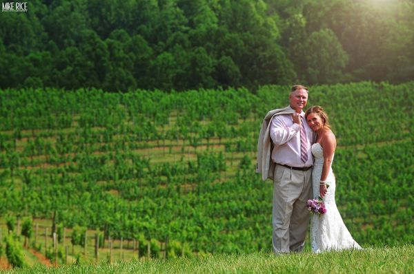 """""""Darren and Emily's beautiful wedding at the Addison Farms Vineyard in Leicester, North Carolina."""" -- <i>Mike Rice</i>"""