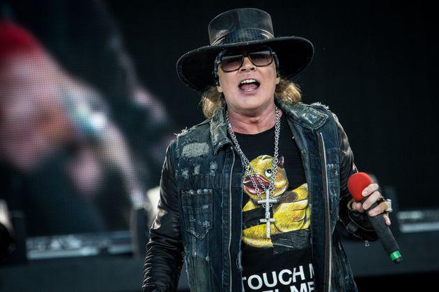 Guns N' Roses are favourite to headline Glastonbury in