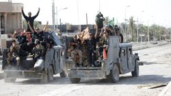 Iraqi Forces Assess The Damage To Fallujah As They Secure The