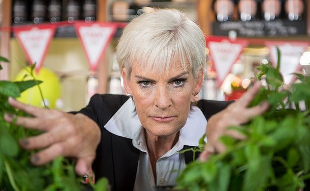 Judy Murray is revelling in her new role of Foliage Officer for