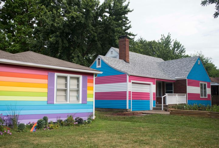 Westboro Members Now Live Next To House Painted Colors Of