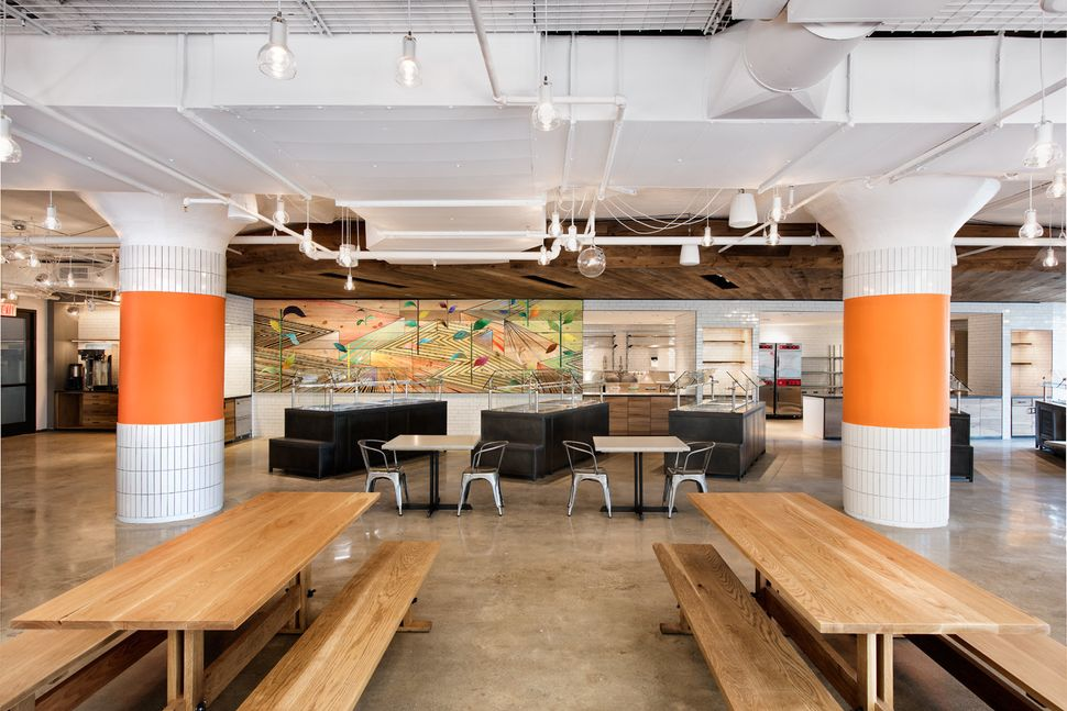 Etsy's new cafeteria space, Eatsy.