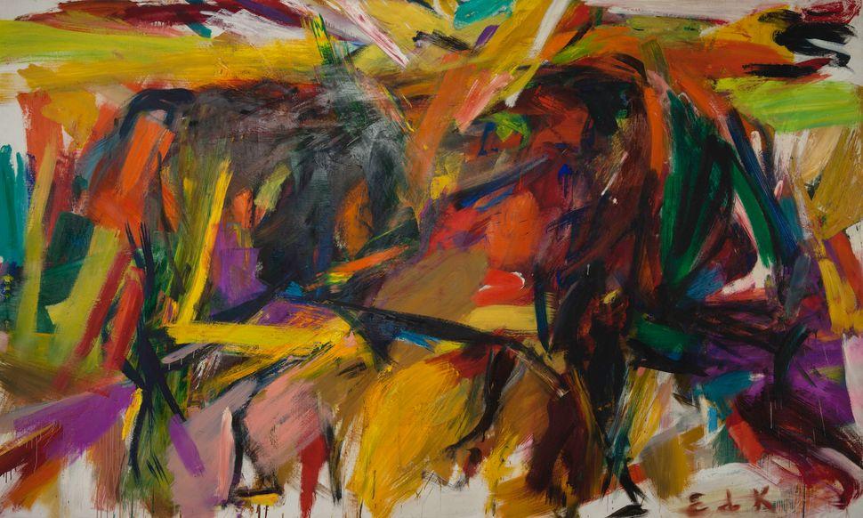 "Elaine de Kooning, ""Bullfight,"" 1959"