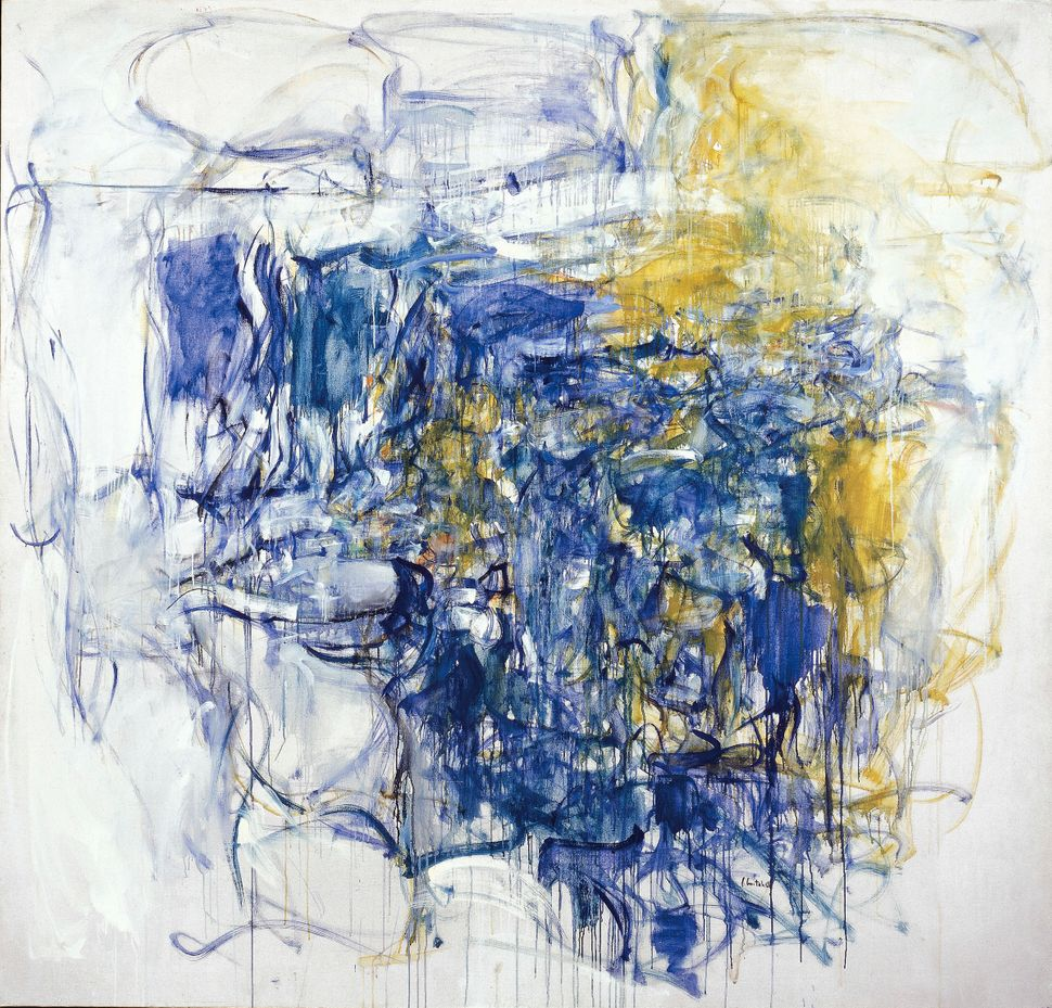 "Joan Mitchell, ""Hudson River Day Line,"" 1955"