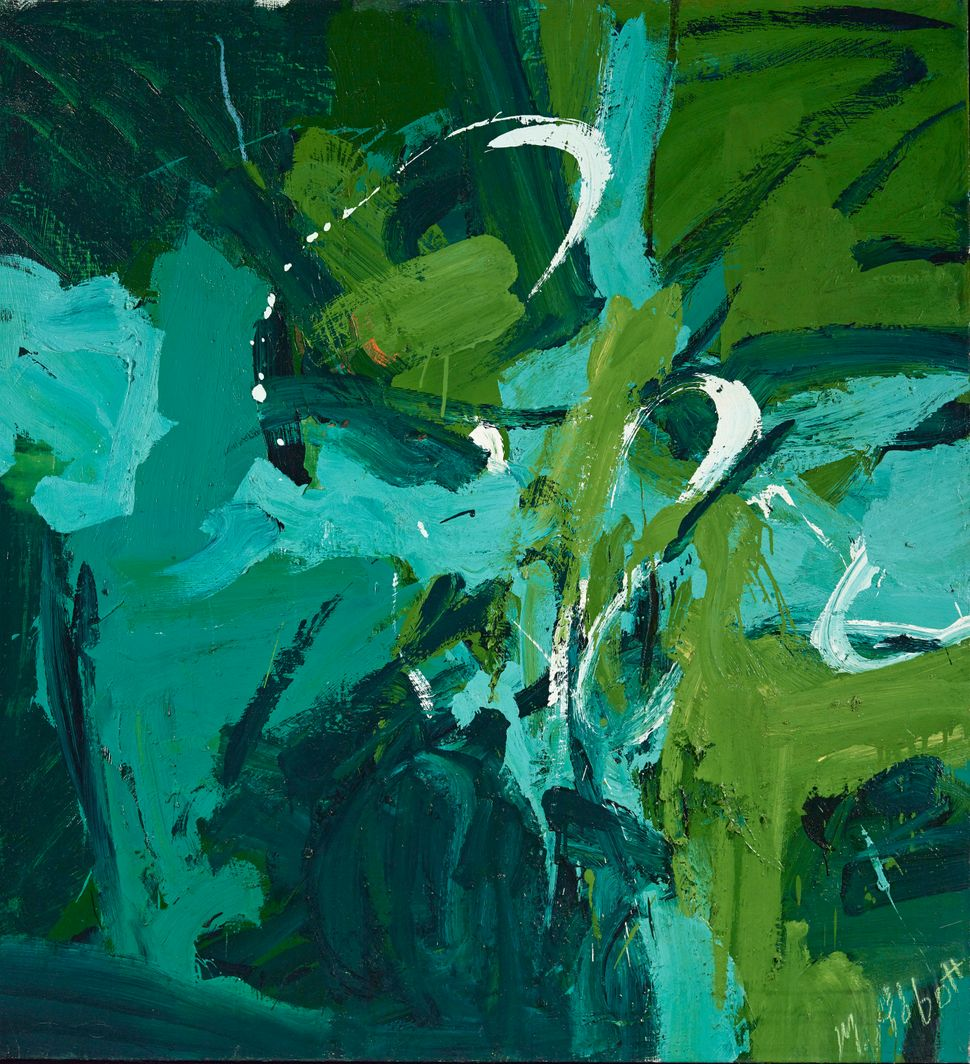 "Mary Abbott, ""All Green,"" 1954"