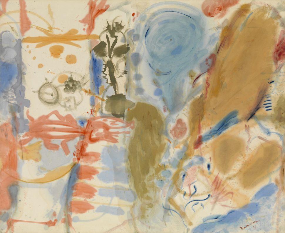 """Helen Frankenthaler, """"Western Dream,"""" 1957"""