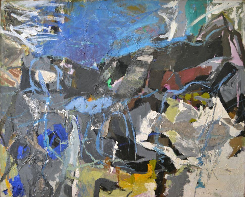 "Perle Fine, ""Summer I,"" 1985-1989"