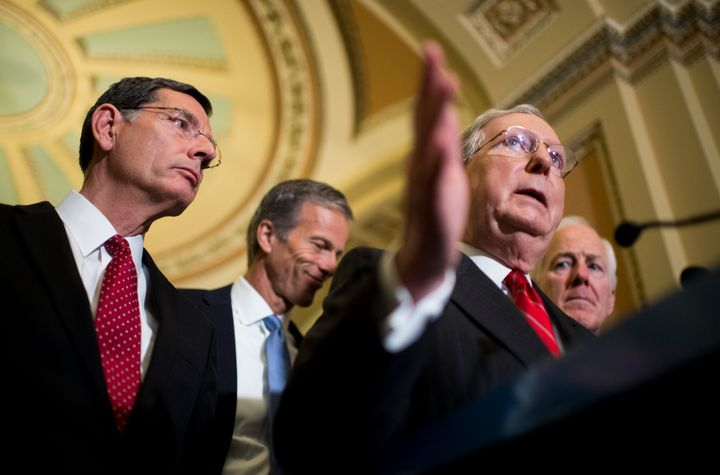 Senate Majority Leader Mitch McConnell (R-Ky.) has said the Senate will vote on a bill this week to help Puerto Rico avoid a