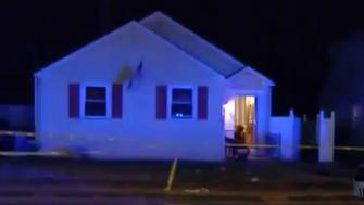 Police were called to this northeast Philadelphia home Sunday night after they say a woman was fatally shot with a crossbow.
