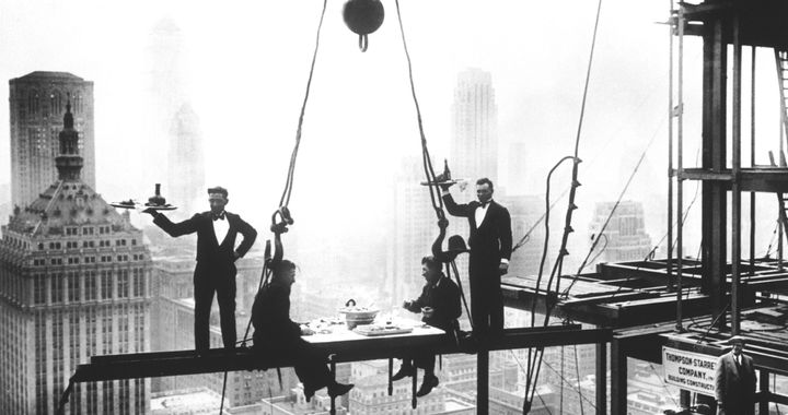 The Waldorf Astoria, still under construction.