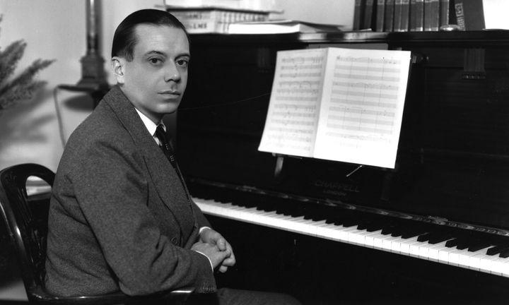 A 1933 portrait of American composer Cole Porter.