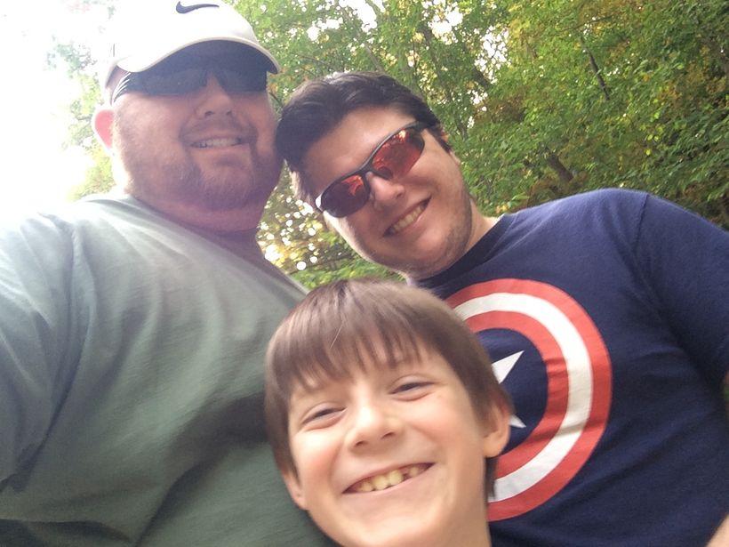 Bryan, Simon and AJ