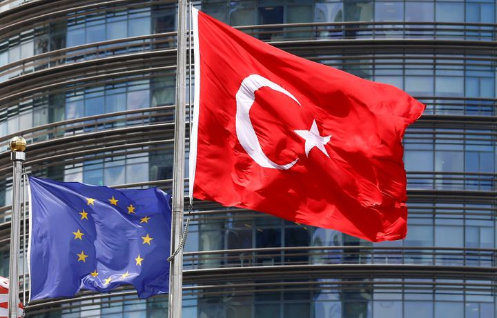 Turkey's ability to join the EUis in questionnow thatBritain, a vocalsupporter of the country's event
