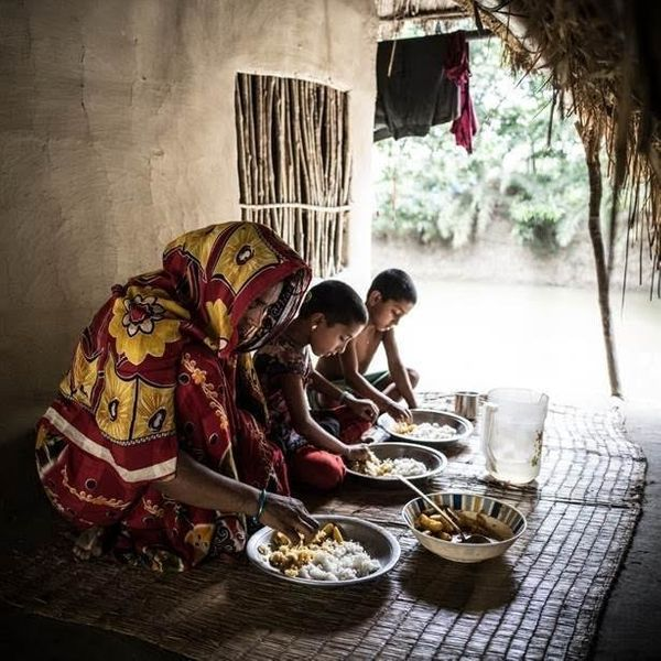 Rexona Begum in Kultoli Village, also in Bangladesh, has learned through a local clinic how to make healthier food choices fo