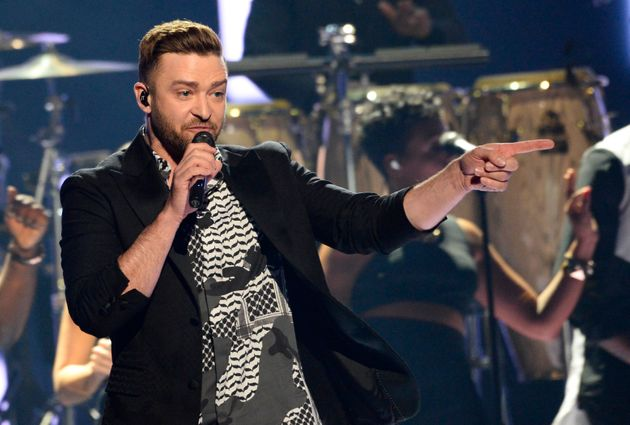 Justin Timberlake must have thought he'd be safe saying nice things,