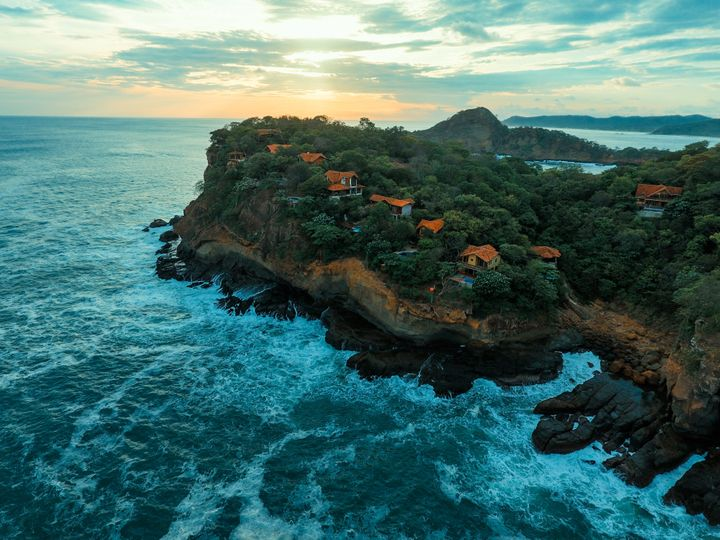 Nicaragua's Pacific coast, Wifi Tribe's home in May.