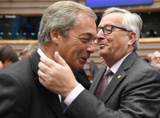 Nigel Farage's 'Victory' Speech To European Parliament Prompts Facepalms All