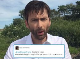 David Tennant Reads Out Mean Tweets Scottish People Are Sending To Donald Trump