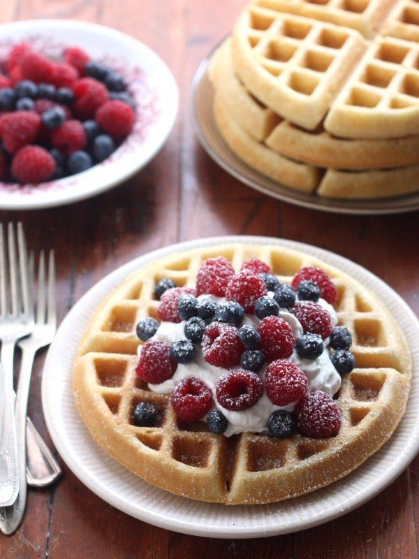 "<strong>Get the <a href=""http://www.completelydelicious.com/2014/01/best-buttermilk-waffles.html"" target=""_blank"">Classic But"