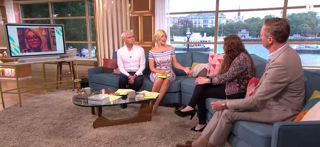 Holly Willoughby Hits Back At Martin Daubney On 'This Morning' Over Breastfeeding In Public