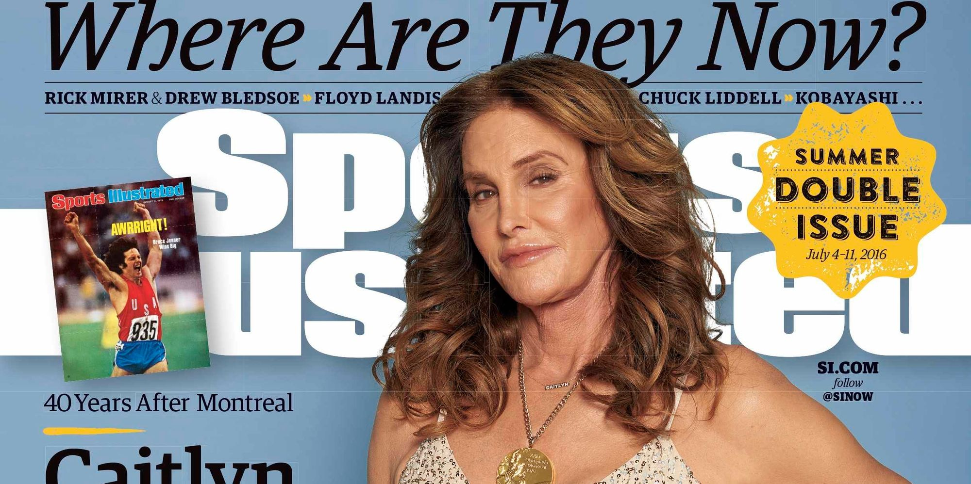 Caitlyn Jenner Graces The Cover Of Sports Illustrated