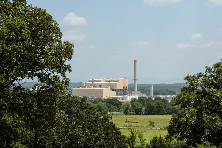 The 350-megawatt AES Shady Point coal-fired generation plant near Panama, Oklahoma.