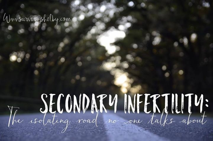 The emotional rollercoaster of secondary infertility.