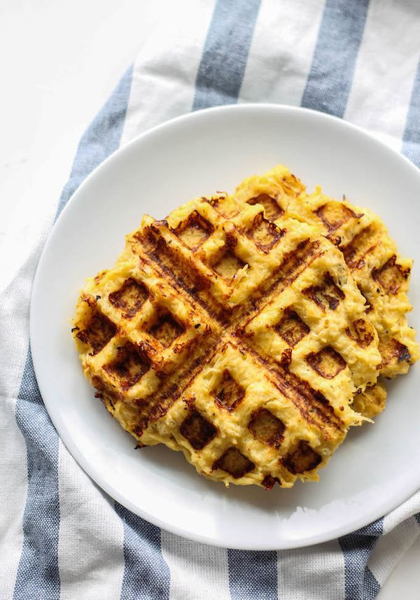 "<strong>Get the <a href=""http://www.destinationdelish.com/spaghetti-squash-waffle-grilled-cheese/"" target=""_blank"">Spaghetti"
