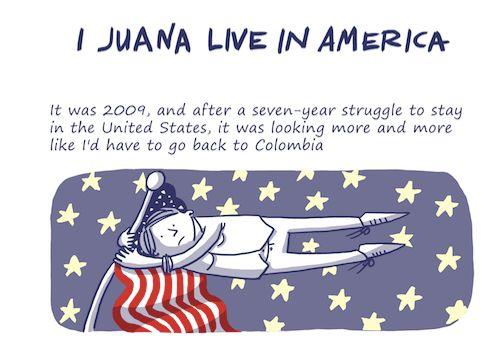 Juana Medina is now an animation professorat George Washington University