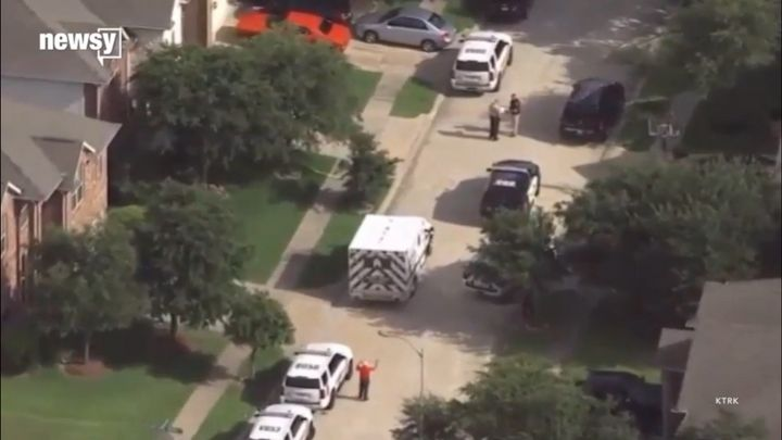 Responding authorities fatally shot the armed mother outside her home when she refused to drop her weapon, the sheriff's depa