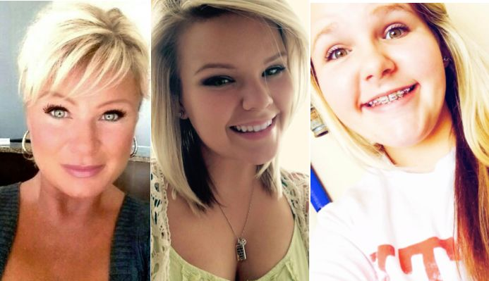Christy Sheats, left,is said to have wanted her husband to suffer when she shot and killed their two daughters, Taylor,