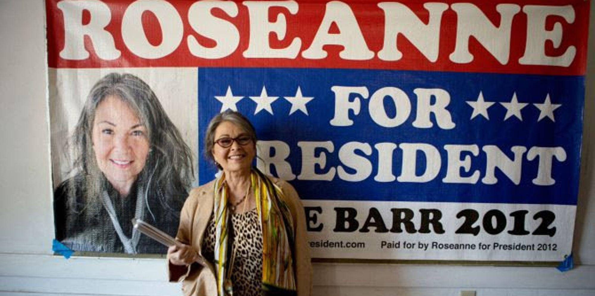 So, About That Whole Roseanne-Running-For-President Thing