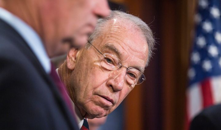 Sen. Chuck Grassley (R-Iowa), who chairs the Judiciary Committee, says he doesn't want to schedule any more hearings on