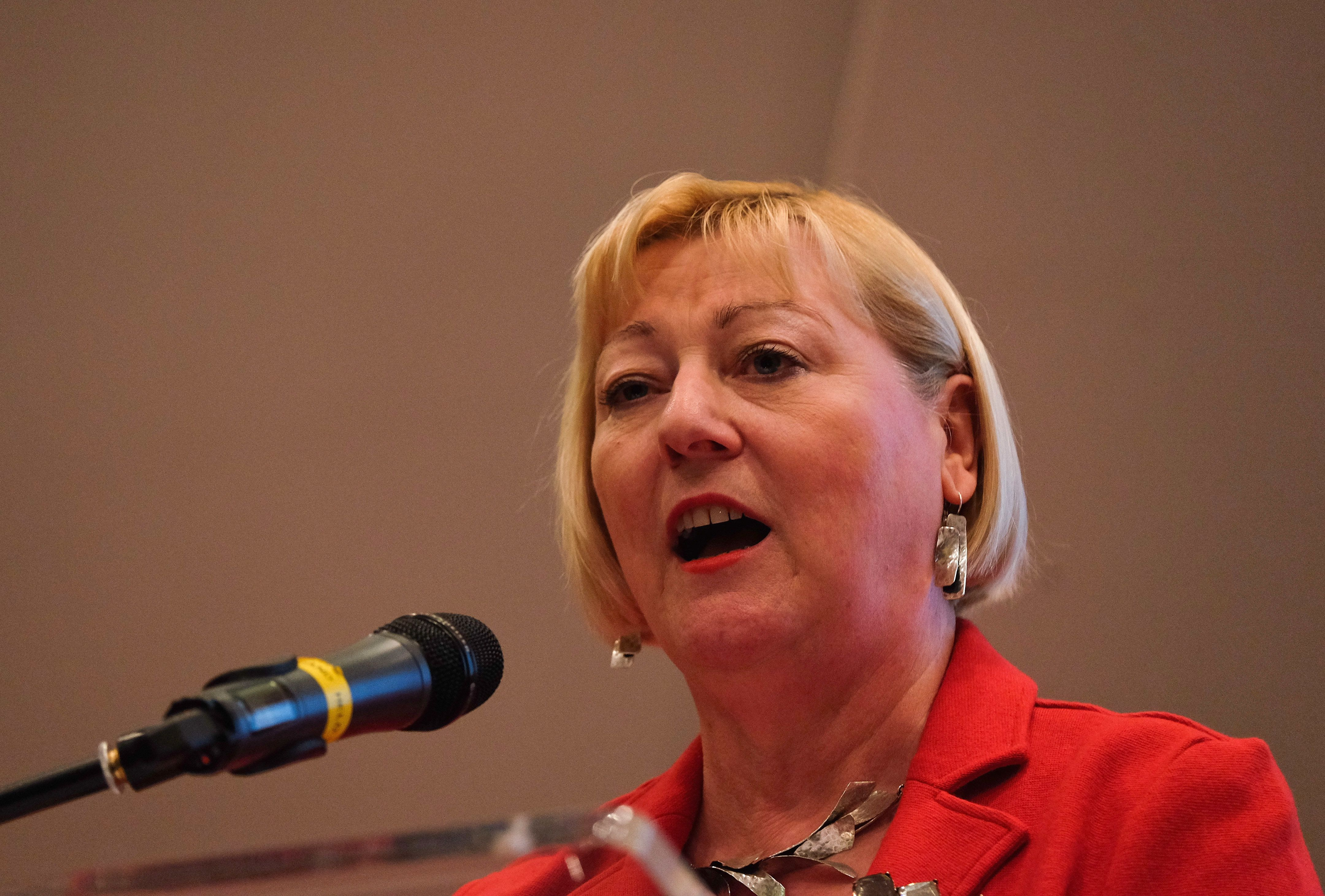 Labour shadow minister Pat Glass has said she will not stand again as an MP after receiving death