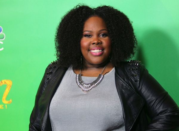 """Sure, """"Glee"""" star Amber Riley's message of loving herself as she is <a href=""""https://www.huffpost.com/entry/amber-riley-to-bo"""