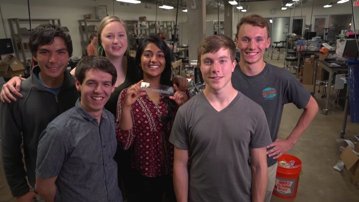 The students who invented BioBlend.