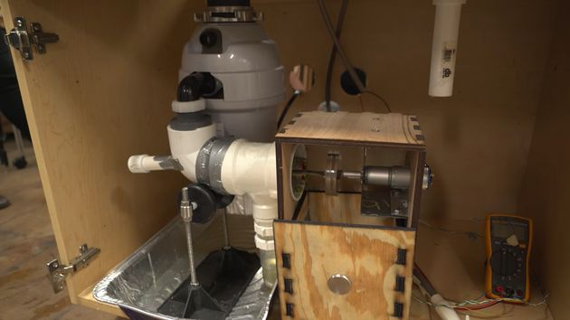 Gizmo Attaches To Garbage Disposals Turns Food Waste Into