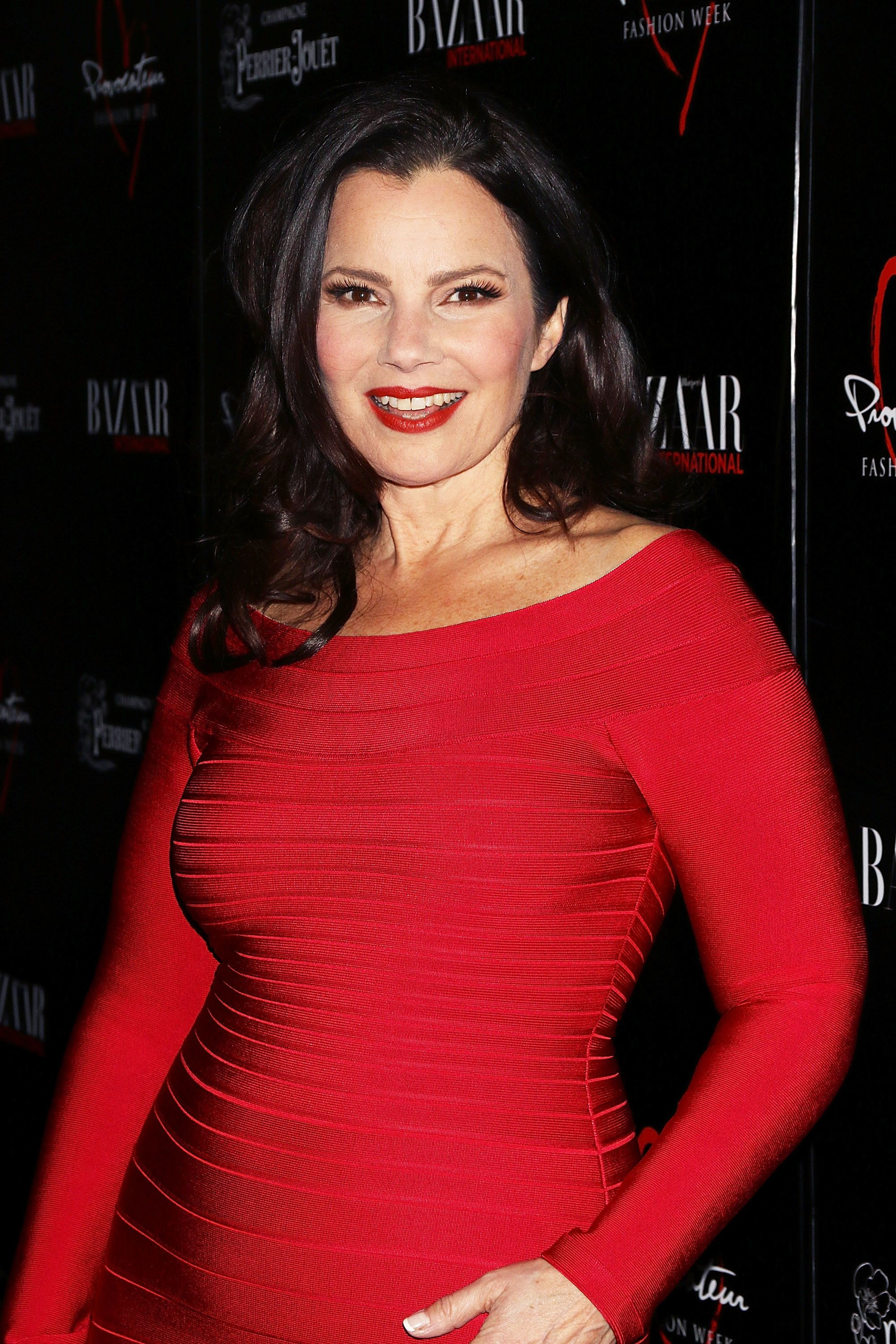 NEW YORK, NY - FEBRUARY 11:  Fran Drescher attends Harper's Bazaar International Celebrates Fashion + Cinema at Provocateur on February 11, 2016 in New York City.  (Photo by Laura Cavanaugh/Getty Images)
