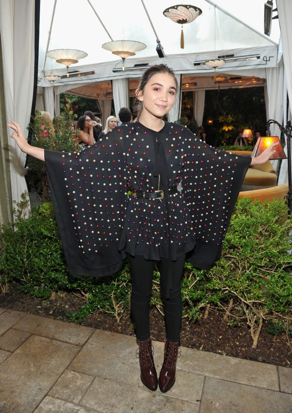 """We wish we had a BFF like Rowan Blanchard to get us through our teen years. The """"Girl Meets World"""" actress once spoke to Elle"""