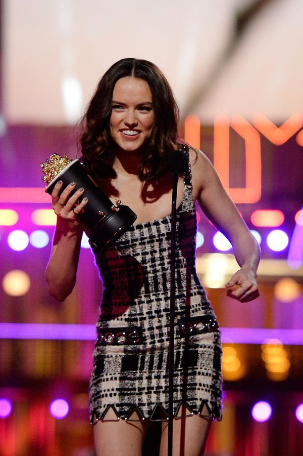 """Daisy Ridley wasn't having it after she caught wind of a meme featuring her """"Star Wars"""" character saying, """"""""I can&rsquo"""