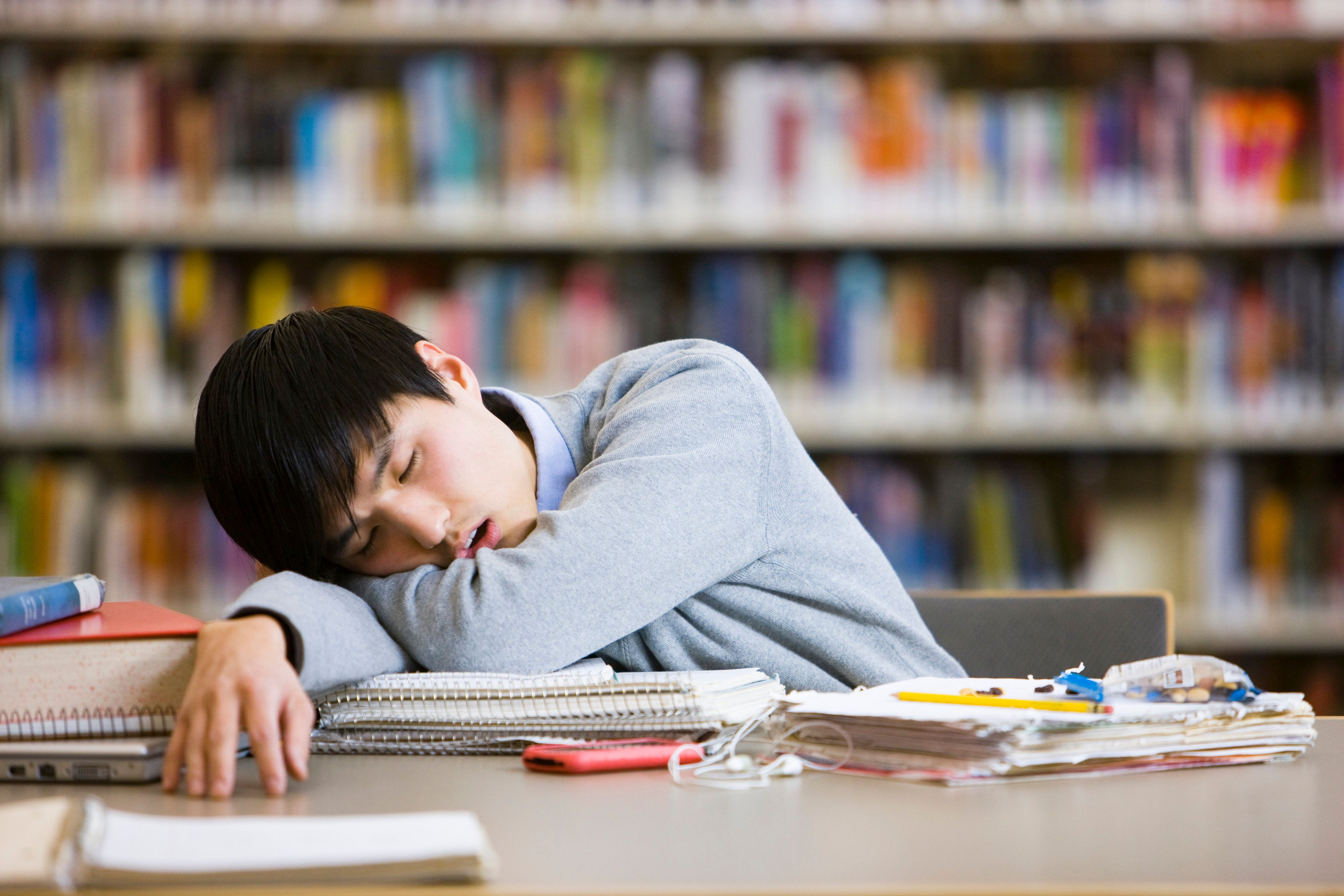 According to a 2014 study, over 90 percent of teens are chronically sleep-deprived.