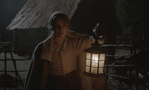 "Terrors real and imagined haunt the Puritan family at the center of this chilly fever dream. ""The Witch"" would be a mast"