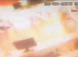 Ataturk Airport Surveillance Video Captures The Terrifying Moment Of An Explosion