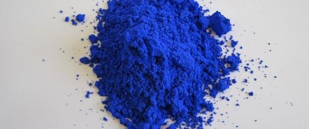 YInMn blue, in all its vibrant