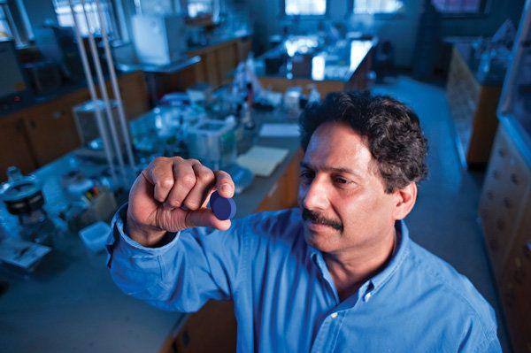 OSU Chemist Mas Subramanian.