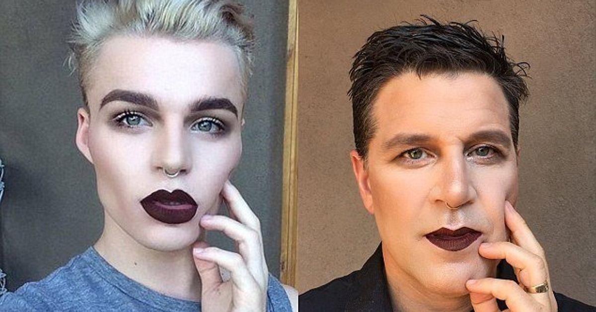 Aspiring Makeup Artist's Dad Supports Him In The Most Badass Way