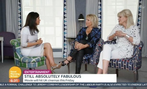 Susanna Reid Mentioning Joanna Lumley's Age During 'Good Morning Britain' Interview Went Down As Well...